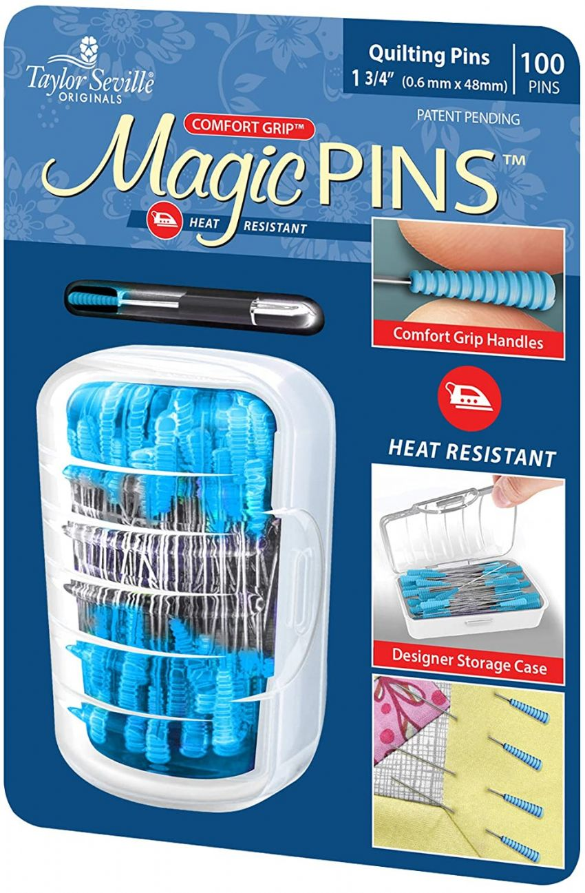 Taylor Seville Magic Pins - 100 Pack